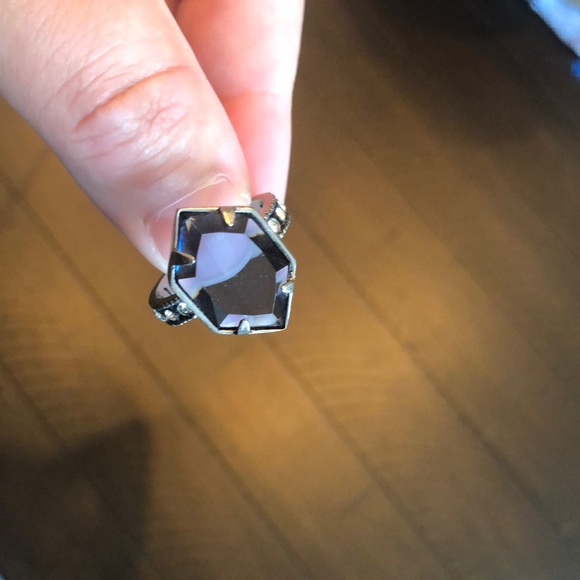Chloe and Isabel silver tone ring